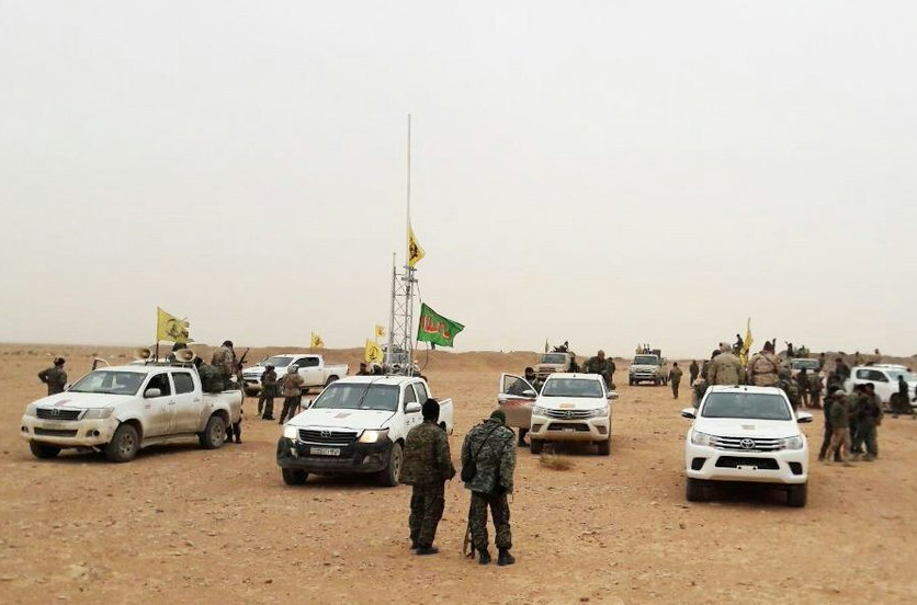 Iranian-Backed Forces Deploy Reinforcements In Syria's Deir Ezzor