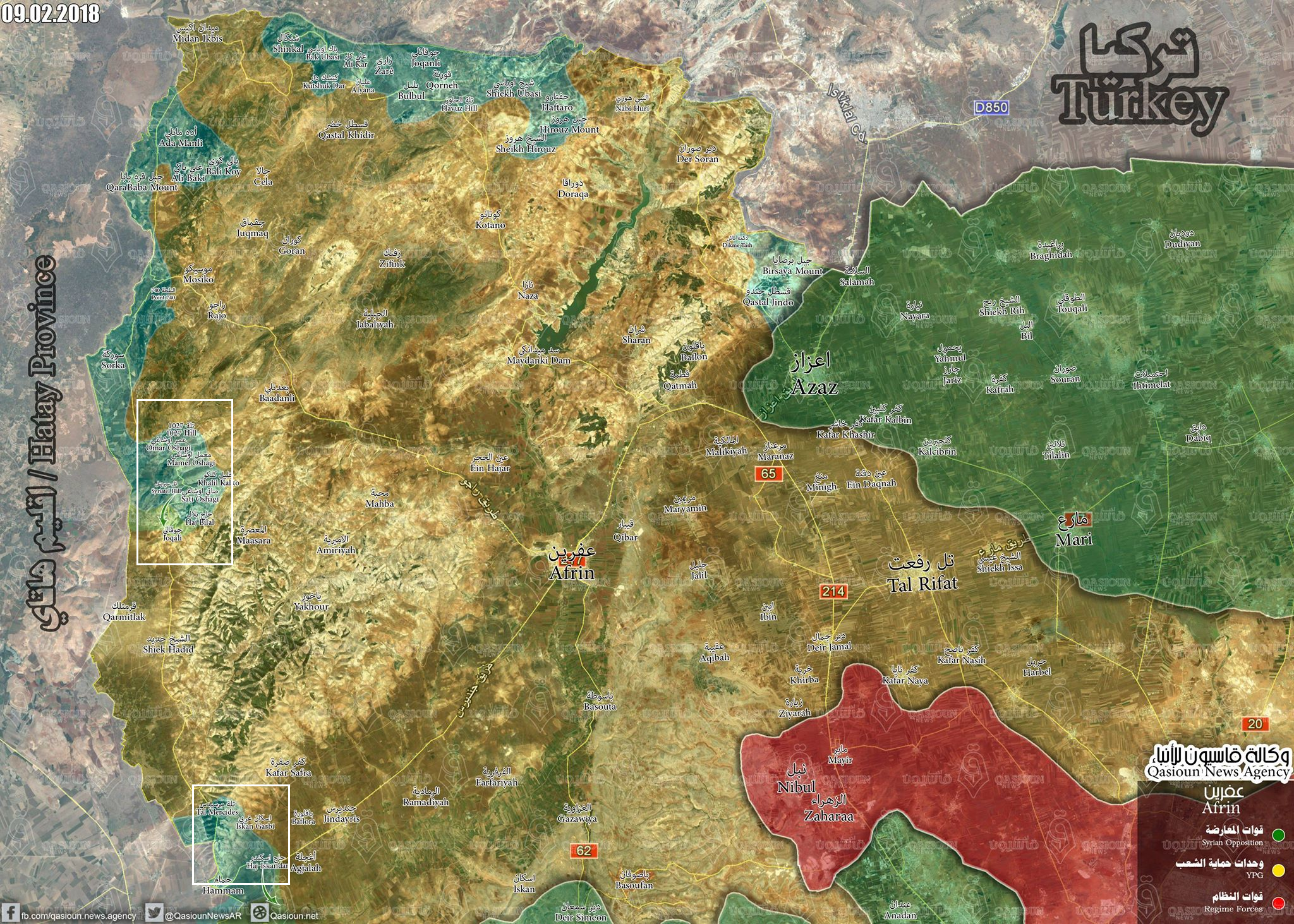 Turkish Army Expands Operations In Western Afrin, Captures Seven Villages (Map, Photos, Videos)