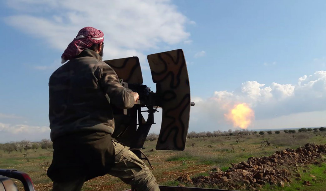 Heavy Clashes Between Hay'at Tahrir al-Sham And Syrian Liberation Front In Idlib And Aleppo (Videos)