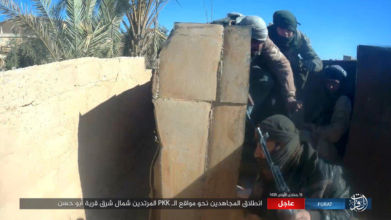 ISIS Conducts New Attacks Against US-backed Forces In Southeastern Deir Ezzor (Photos)