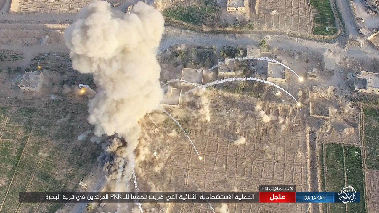 ISIS SVBIED Targets Syrian Democratic Forces In Al-Bahrah In Southeastern Deir Ezzor (Photos)
