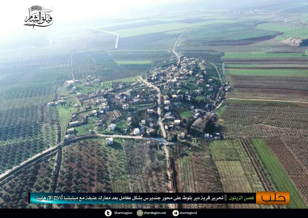Turkish Forces Capture Another Village. YPG Repels Major Attack West Of Afrin (Photos, Video)