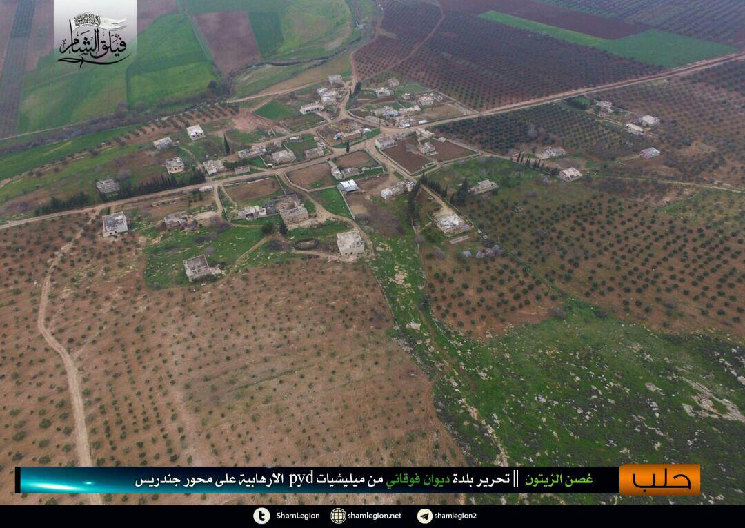 Turkish Forces Capture Large Area In Northwestern Afrin (Map, Photos)