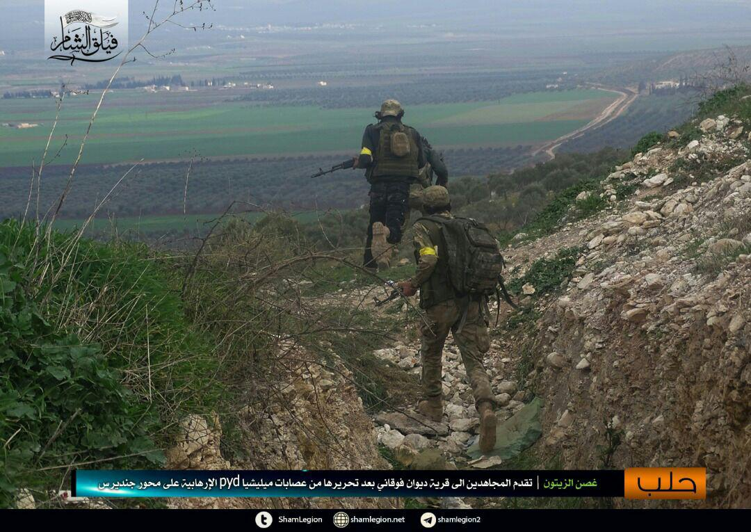 Turkish Forces Capture Two New Villages In Northern Afrin (Photos, Video)