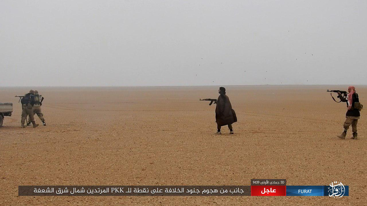ISIS Fighters Attack US-backed Forces Near Syrian-Iraqi Border (Photos)