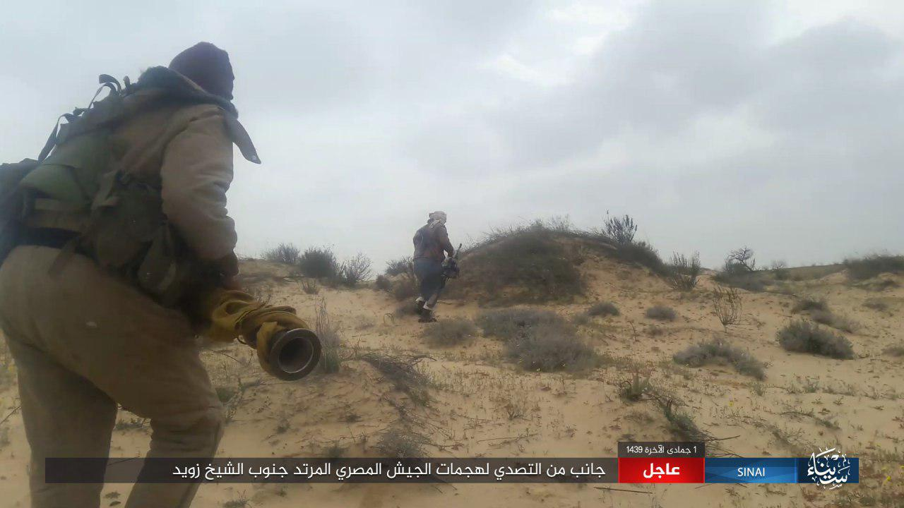 ISIS Strikes Back In Sinai, Claims Several Army Vehicles Destroyed (Photos, Video)