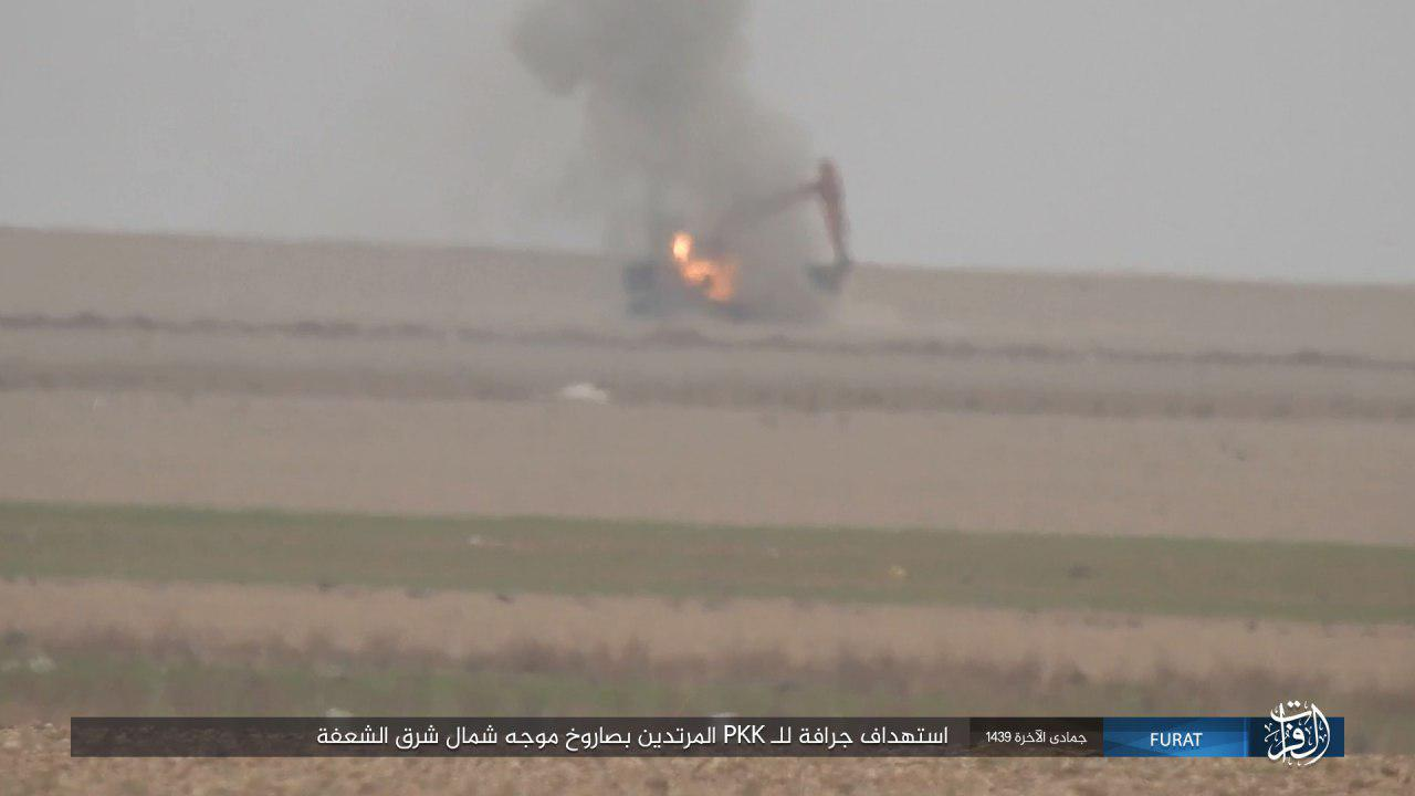 ISIS Attacks US-backed Forces In Southwestern Deir Ezzor