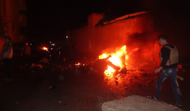 Explosion Rocked Fuel Station, Tanker In Northeastern Syria. Casualties Reported