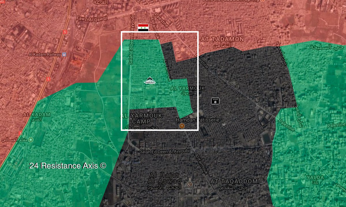 ISIS Captures Two New Neighborhoods In Yarmouk Camp South Of Damascus