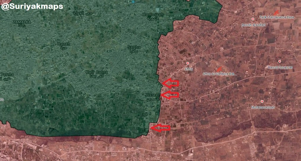 Overview Of Battle For Eastern Ghouta On May 14, 2018 (Maps, Videos, Photos)
