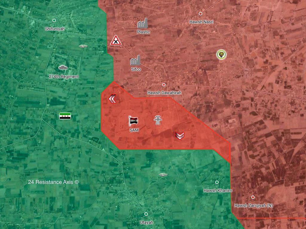 Syrian Forces Liberated Al-Bashoura Air Defense Base In Eastern Ghouta From Militants (Map)