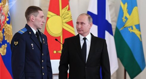 Putin Declassifies Russian Special Forces Soldier's Act of Heroism in Syria