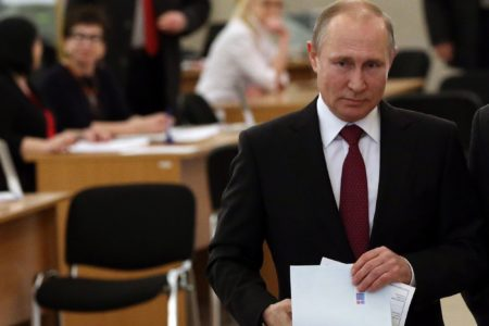 Putin Wins New Presidential Term. MSM Is In Rage