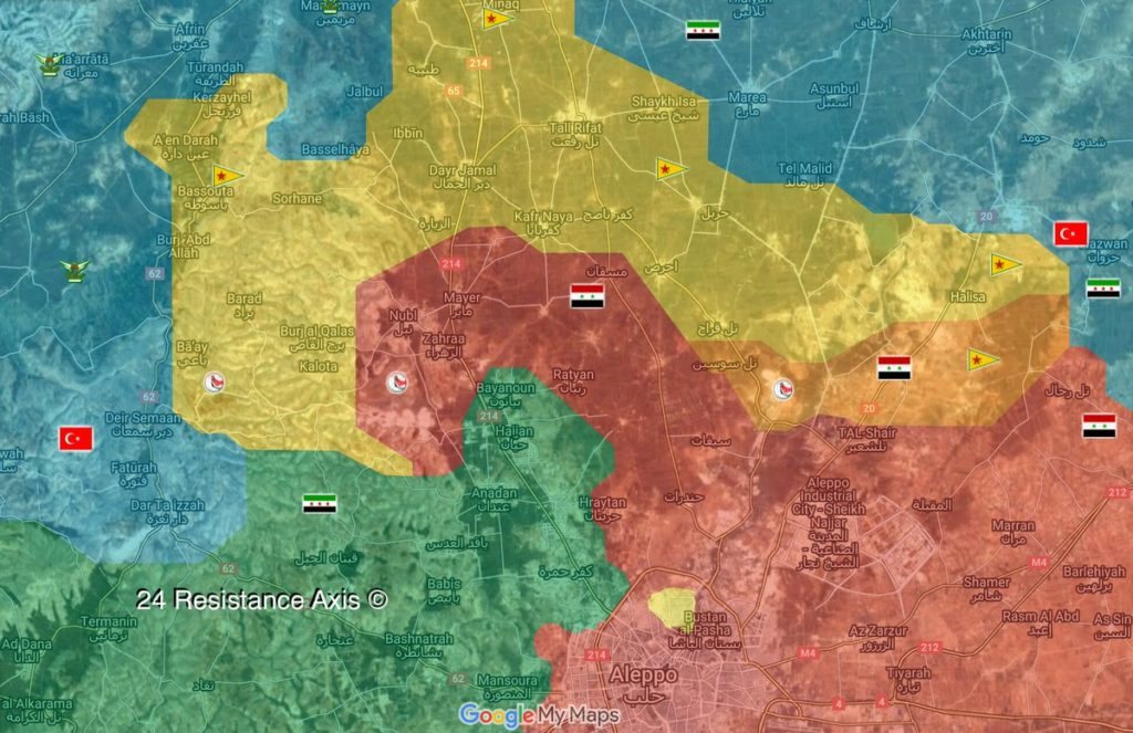 Turkish-backed Militants Prepare To Storm Remaining YPG Positions South Of Afrin - Reports
