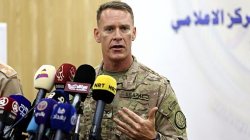 US-led Coalition Claims Syrian Forces Conduct Build-Up In Euphrates Valley