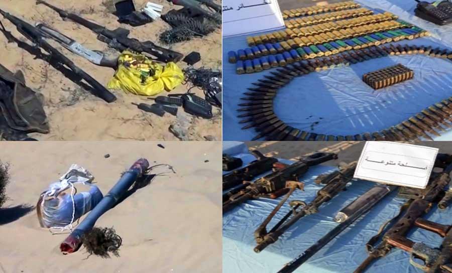 Egyptian Army Eliminates Dozens Of ISIS Fighters In Sinai Peninsula