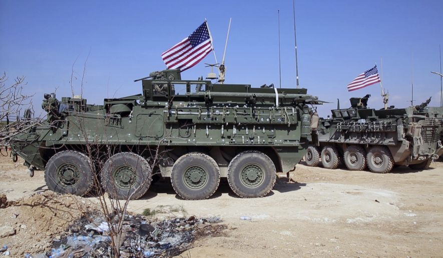 U.S. Forces Not Going To Leave Syria's Manbij, No Agreement With Turkey Reached - Department Of State