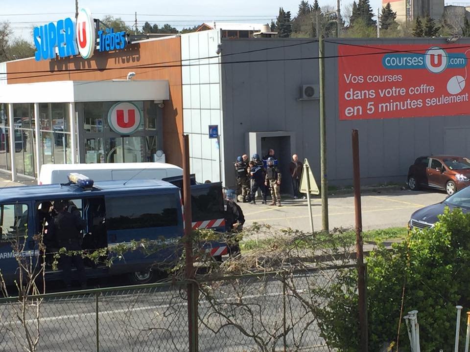 France: Supermarket Hostage-Taker Claims Allegiance To ISIS. Casualties Reported