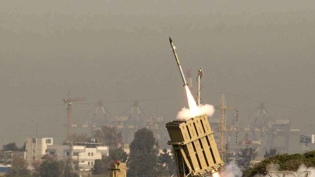 Israel Fires Iron Dome Air Defense Missiles Over False Alarm