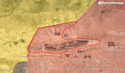 PKK Hands Over Large Area At Syrian-Iraqi Border To Iraqi Security Forces