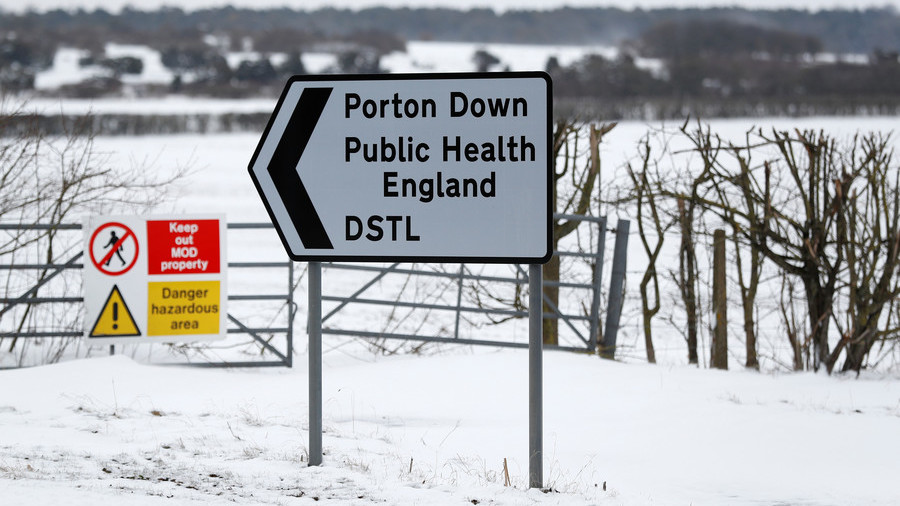 Salisbury Nerve Agent Attack Reveals $70 Million Pentagon Program At Porton Down