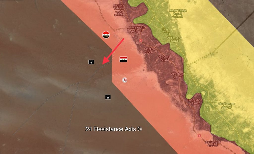 Government Forces Start Security Operation To Crack Down ISIS Cells South Of Al-Mayadin