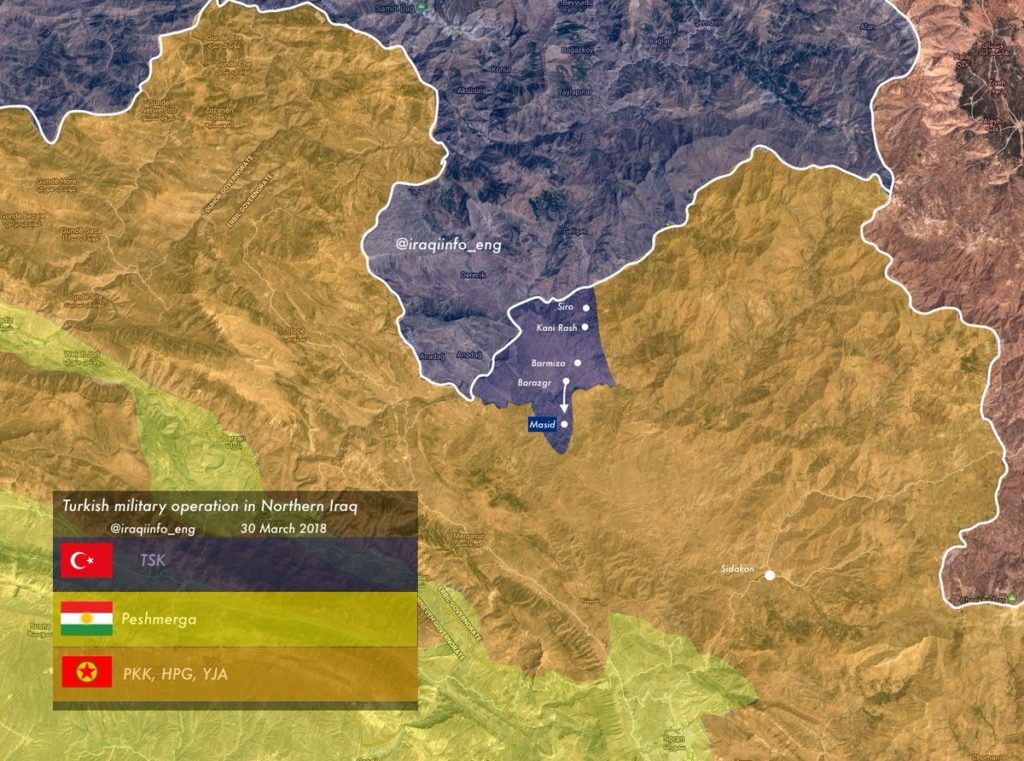 Turkey Expands Its Ground Operations Against PKK In Northern Iraq - Reports