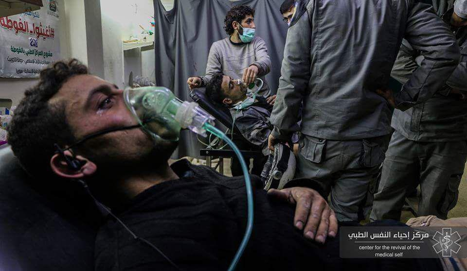"""Russia Offers Militants Safe Passage Out Of Eastern Ghouta. Militant Media Reports New """"Chemical Attack"""""""