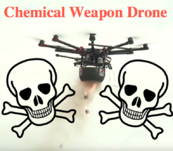 Caught On Camera: Israel Targets Civilians With A Chemical Weapon Drone