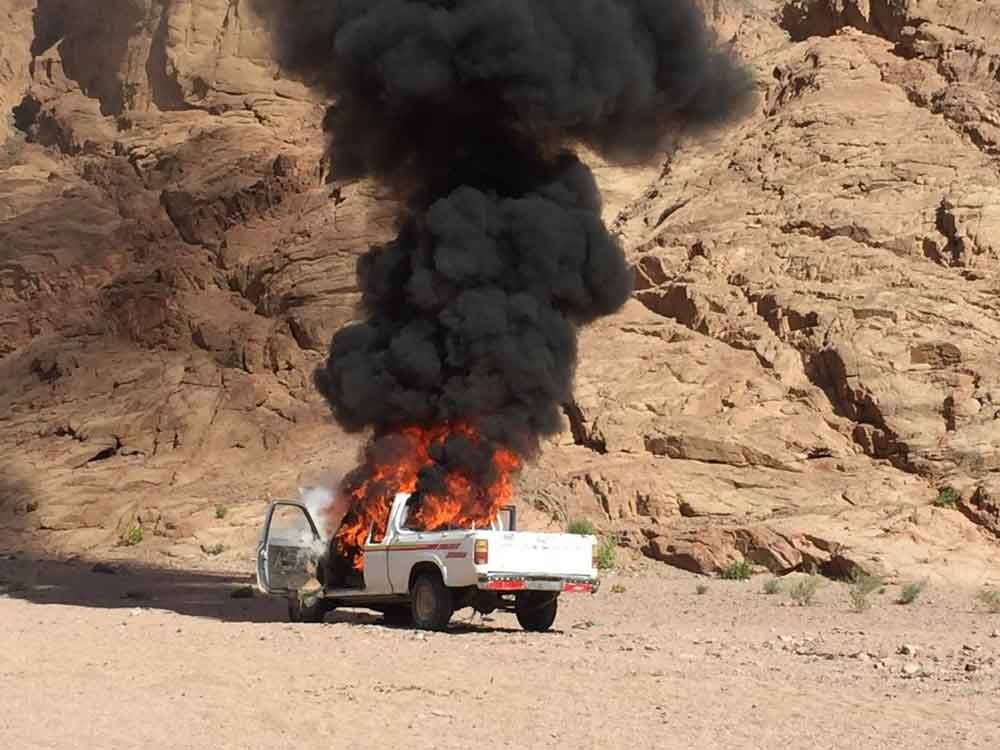 Egyptian Army Continues Operation In Sinai Peninsula. ISIS Responds (Photos)