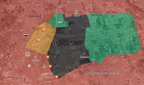 In Maps: Military Situation In Southern And Eastern Damascus