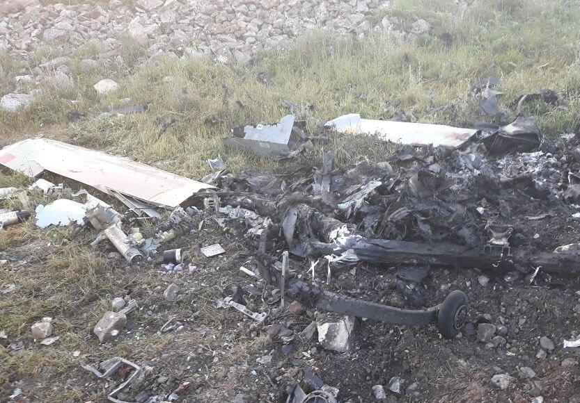 Israeli Spy Drone Crashes In Southern Lebanon (Photos)
