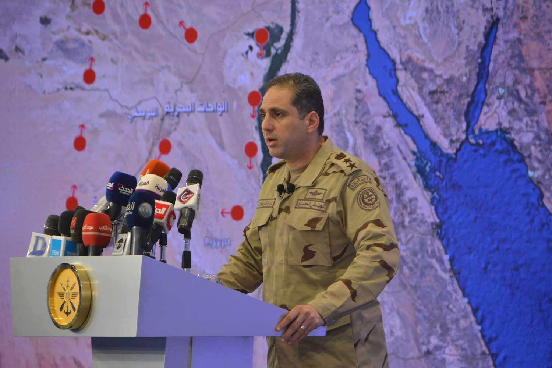 シナイの軍事作戦開始以来、エジプト軍は100名以上のISIS戦士を殺した
