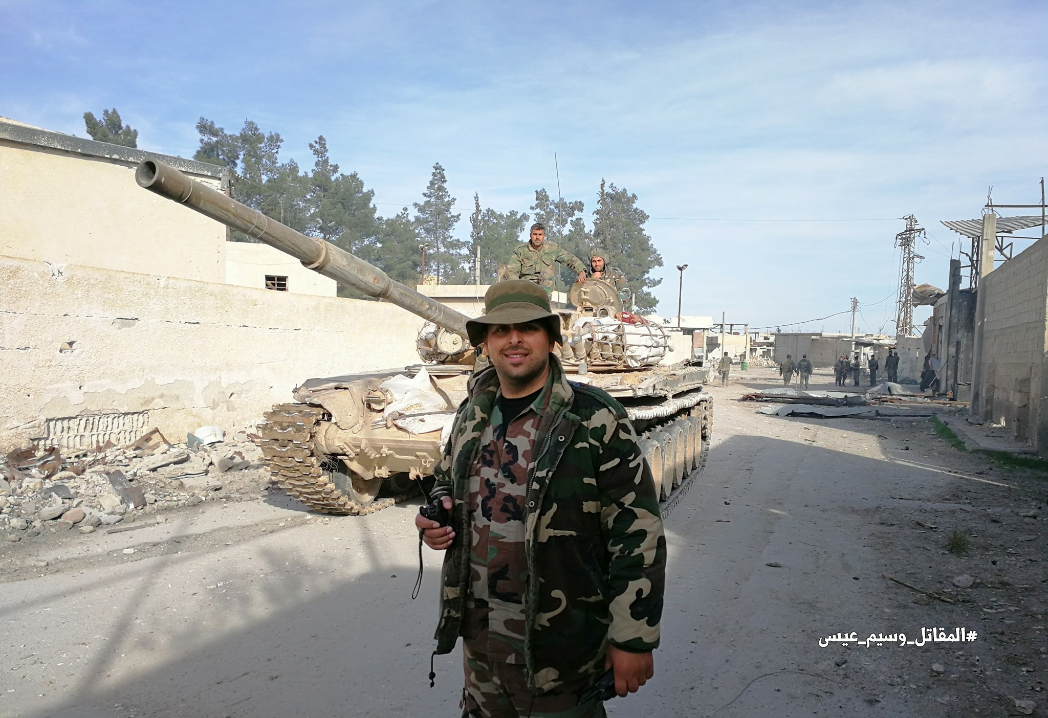 Syrian Army Captures Key Town In East Ghouta, Sends Large Reinforcements To Develop Attack (Photos)