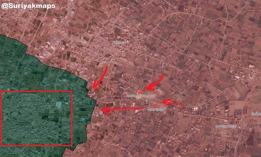 Syrian Army Liberates Another Town In Heart Of Eastern Ghouta, Evacuates 12,500 Civilians (Map, Video)