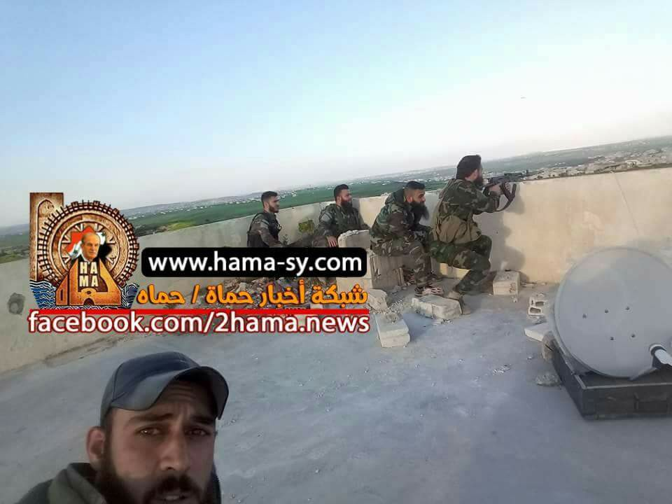 Syrian Army Repels FSA Attack In Hama, Kills Dozens Militants (Photos, Video)