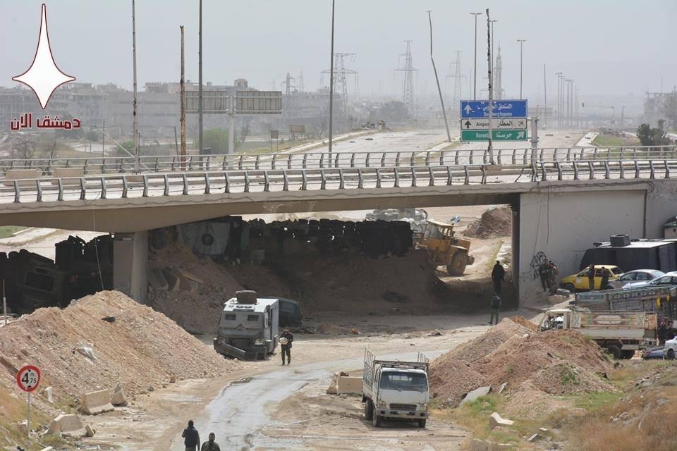 First Batch Of Faylaq al-Rahman And Hayat Tahrir al-Sham Militants Leaves East Ghouta Towards Northern Syria