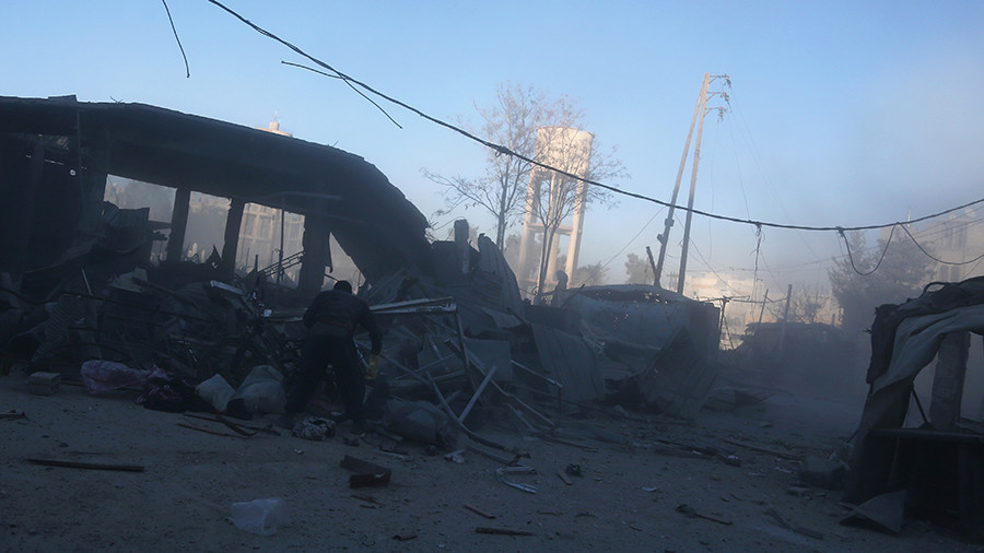 U.S. Officially Threatens To Strike Syrian Army If It Continues Operation In Eastern Ghouta