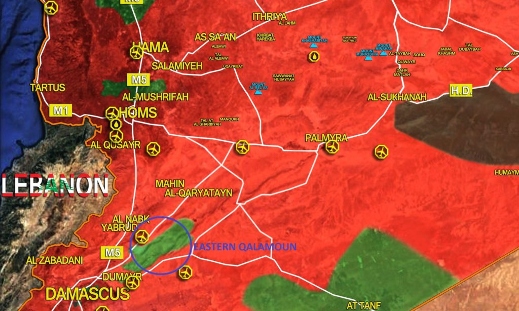 Militants Once Again Attack Government Forces In Eastern Qalamoun