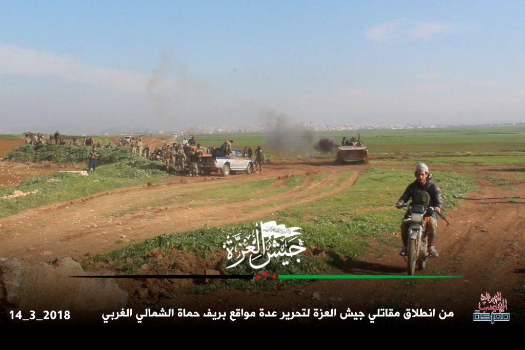 """Wrath for Ghouta"": Militants Launch Large Attack Against Syrian Army In Northern Hama (Videos, Photos, Map)"