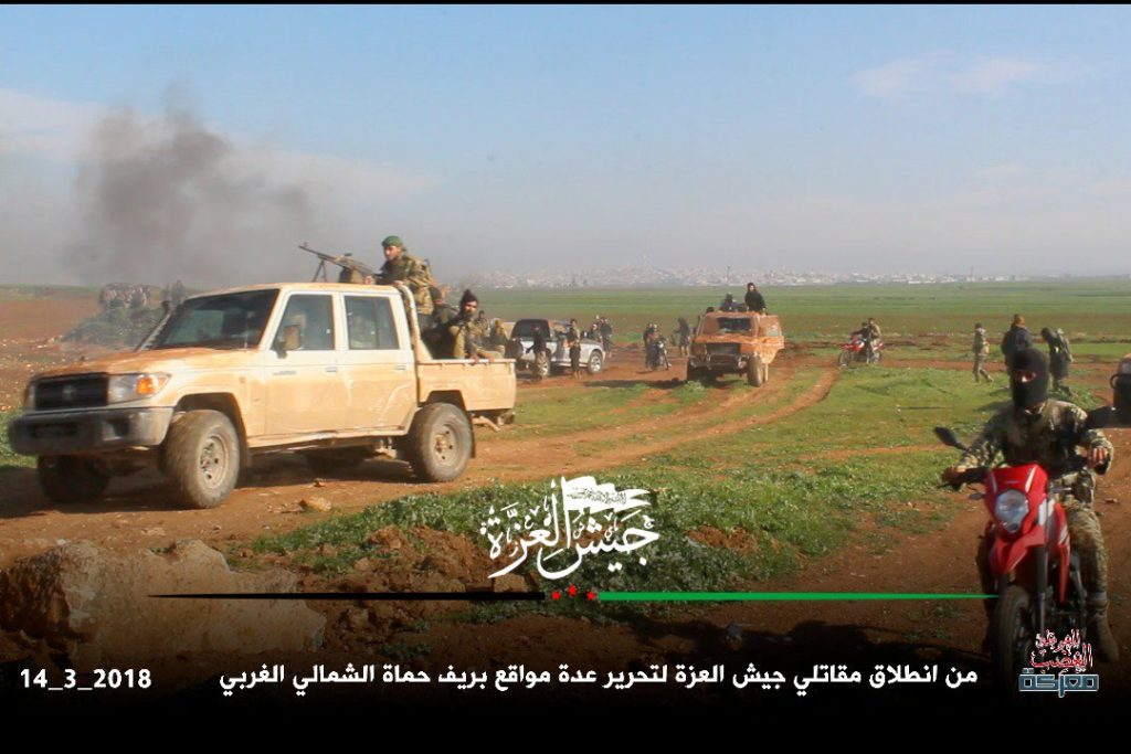 """""""Wrath for Ghouta"""": Militants Launch Large Attack Against Syrian Army In Northern Hama (Videos, Photos, Map)"""