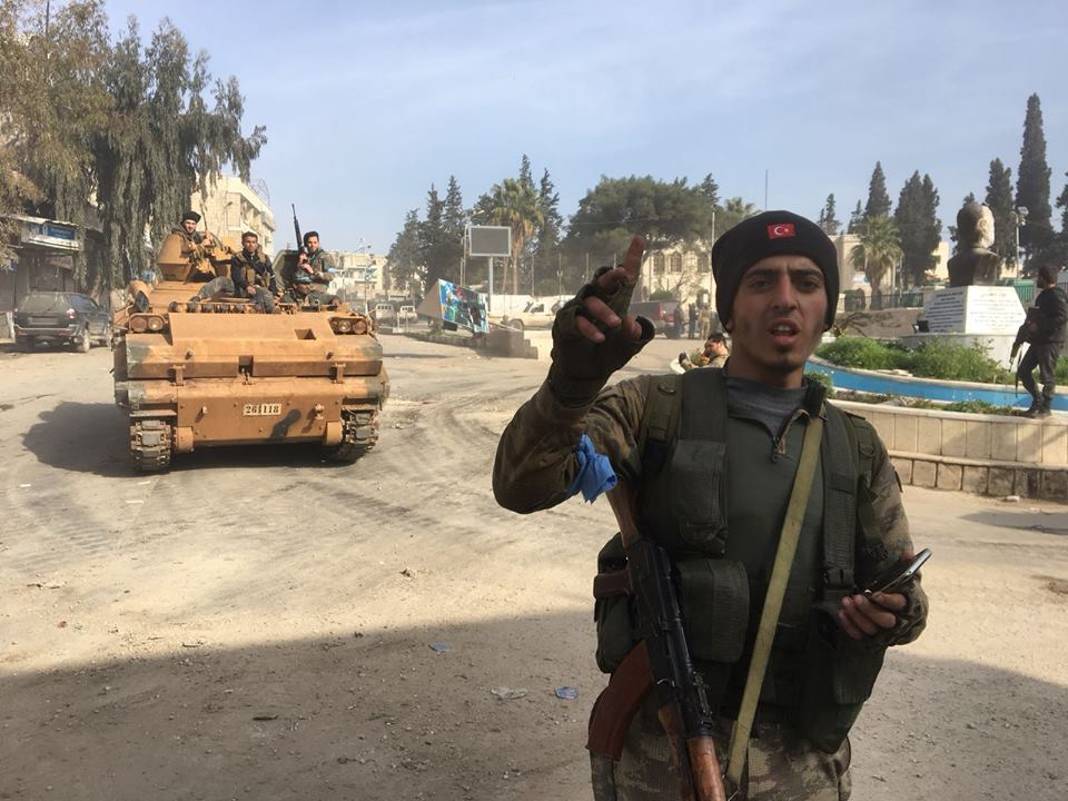 Turkish Forces Captured Afrin City From YPG (Video, Photos)