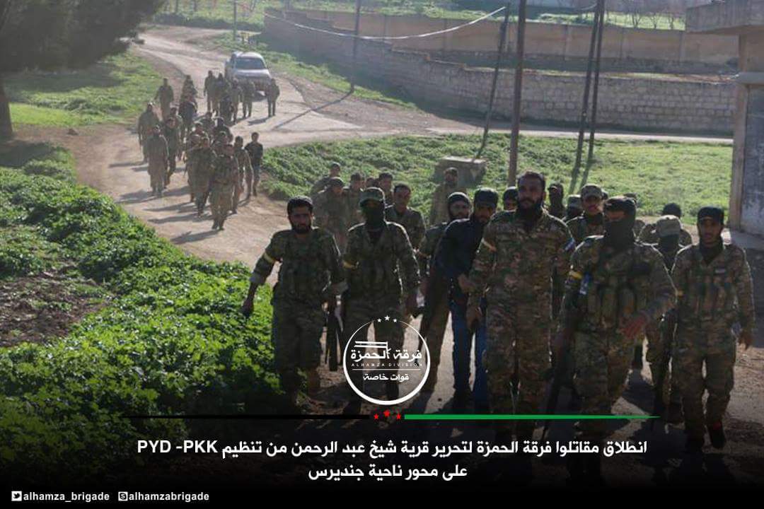 Turkish Army Captures Key Positions Around Afrin City From YPG (Map, Video, Photos)