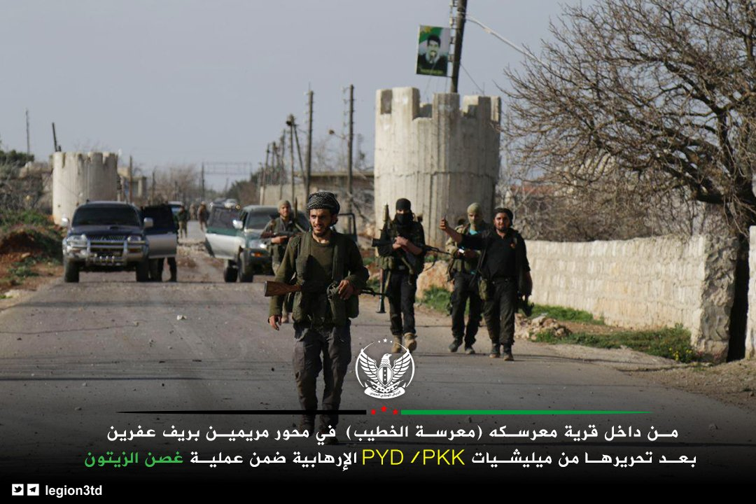 Turkish Army Captured 4 More Points From YPG In Afrin (Map, Video, Photos)