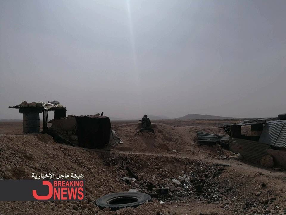 Syrian Army Expands Security Zone Around al-Qaryatayn, East Qalamun And Eastern Ghouta (Photos, Video)