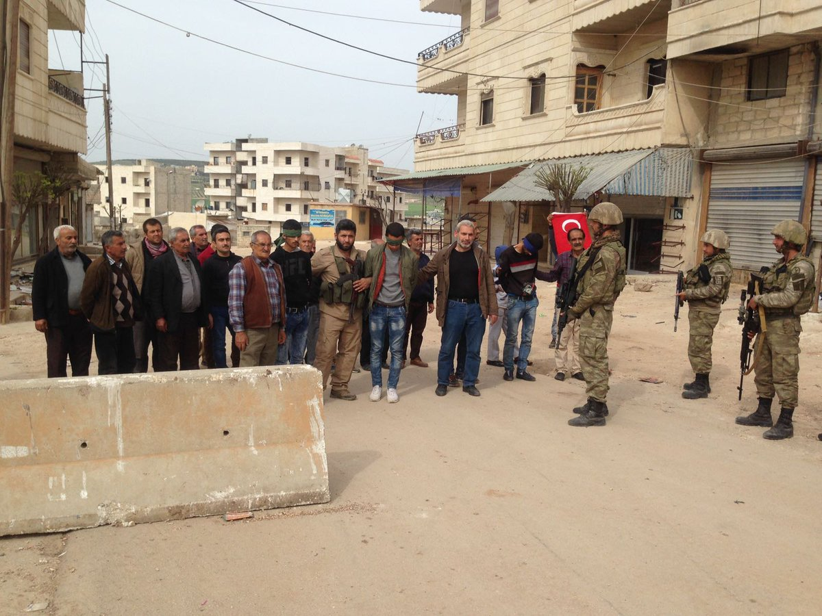 Turkish Army Clashes With Syrian Army And Kurdish Fighters South Of Afrin