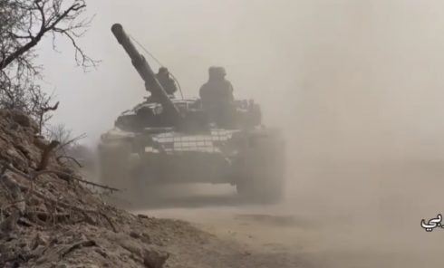 Video: Government Forces Enter Farms Near Jirsin In Eastern Ghouta