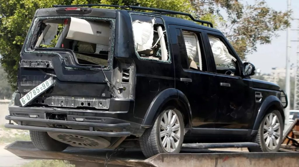 Palestinian Prime Minister's Convoy Attacked With Explosive Device In Gaza