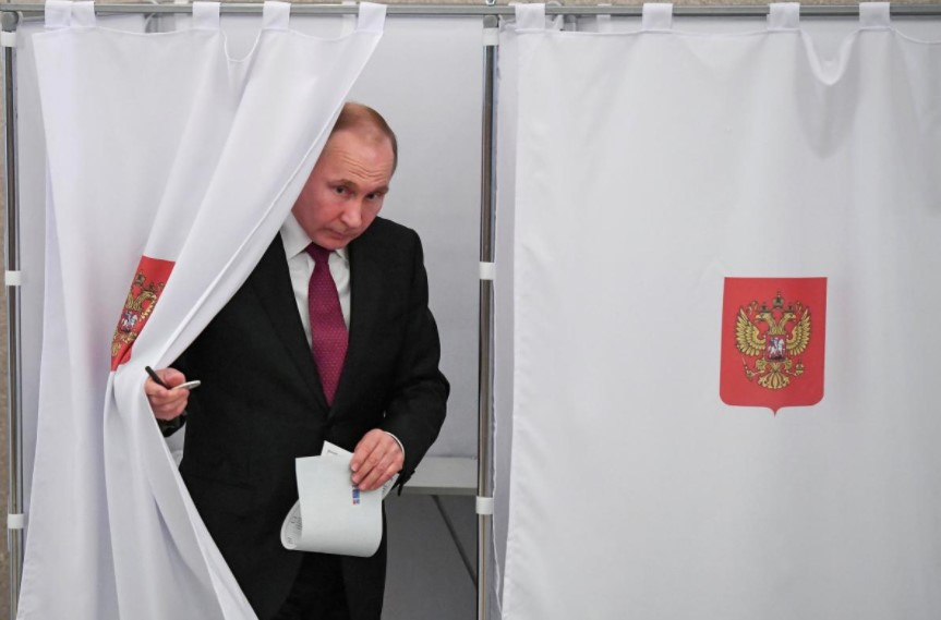 Preliminary Results: Putin Achieves Decisive Victory In Russian Presidential Election
