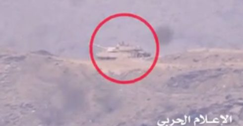 Houthis Target US-made Abrams M1A2 Battle Tank With Guided Missile (Video)